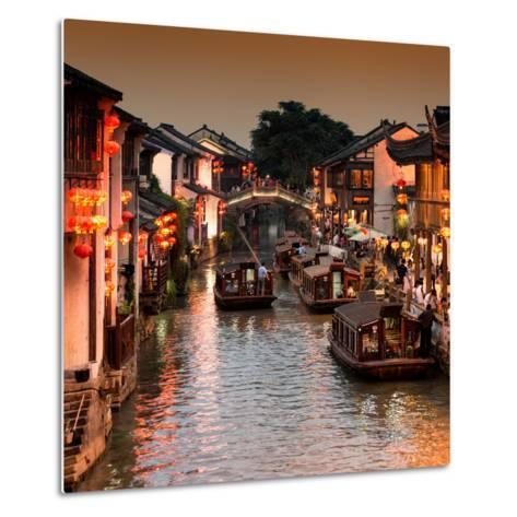 China 10MKm2 Collection - Shantang water Town - Suzhou-Philippe Hugonnard-Metal Print