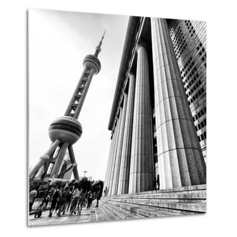 China 10MKm2 Collection - Oriental Pearl Tower - Shanghai-Philippe Hugonnard-Metal Print