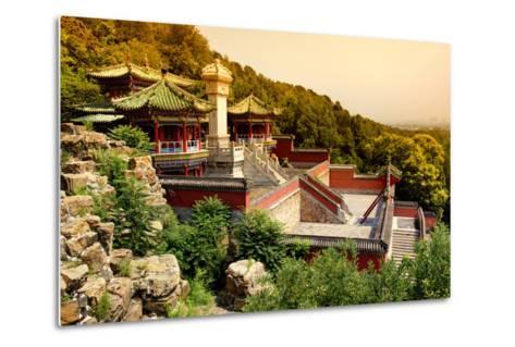 China 10MKm2 Collection - Summer Palace at Sunset-Philippe Hugonnard-Metal Print