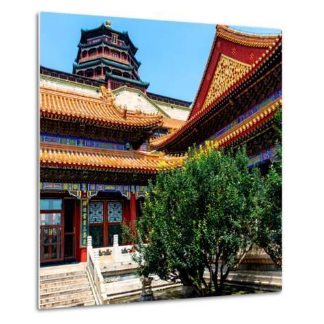 China 10MKm2 Collection - Pavilion of Buddhist - Summer Palace-Philippe Hugonnard-Metal Print