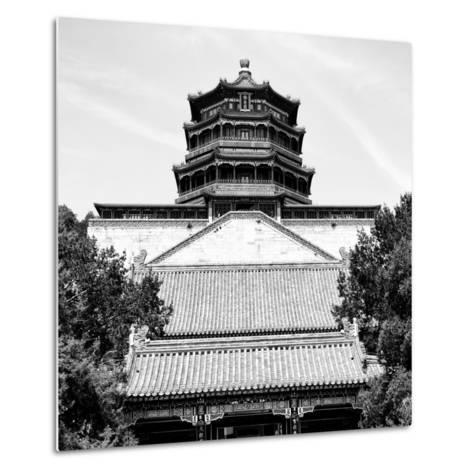 China 10MKm2 Collection - Pavilion of Buddhist - Summer Palace-Philippe Hugonnard-Metal Print