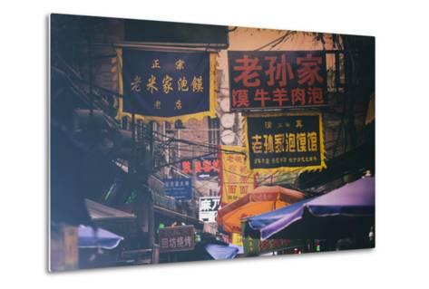 China 10MKm2 Collection - Street Signs-Philippe Hugonnard-Metal Print