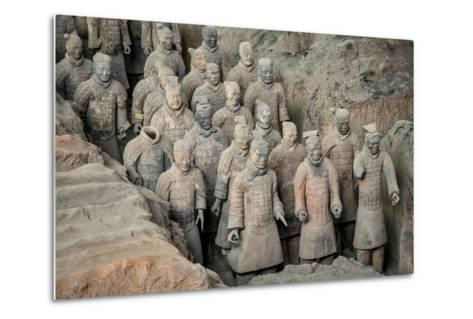 China 10MKm2 Collection - Terracotta Army-Philippe Hugonnard-Metal Print