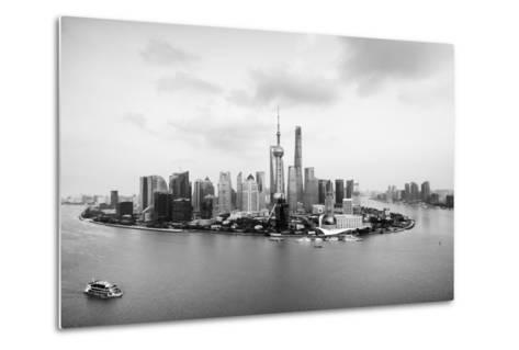 China 10MKm2 Collection - Shanghai Skyline with Oriental Pearl Tower-Philippe Hugonnard-Metal Print