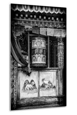 China 10MKm2 Collection - Prayer Wheels-Philippe Hugonnard-Metal Print