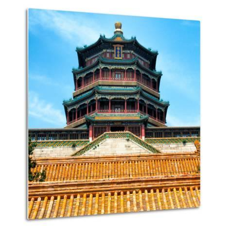 China 10MKm2 Collection - Summer Palace Temple - Beijing-Philippe Hugonnard-Metal Print
