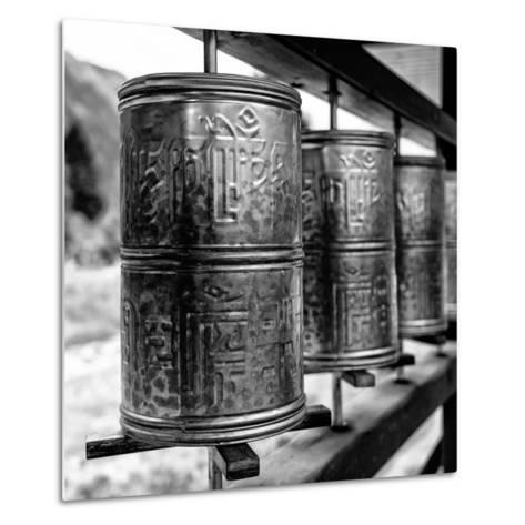 China 10MKm2 Collection - Prayer Wheels-Philippe Hugonnard-Metal Print