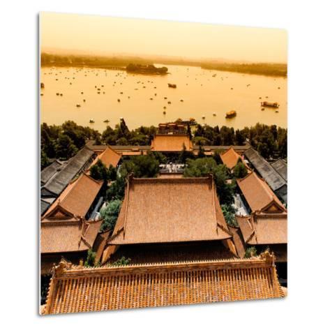 China 10MKm2 Collection - Summer Palace and Lotus Lake-Philippe Hugonnard-Metal Print