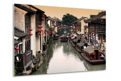China 10MKm2 Collection - Shantang water Town - Suzhou-Philippe Hugonnard-Metal Print