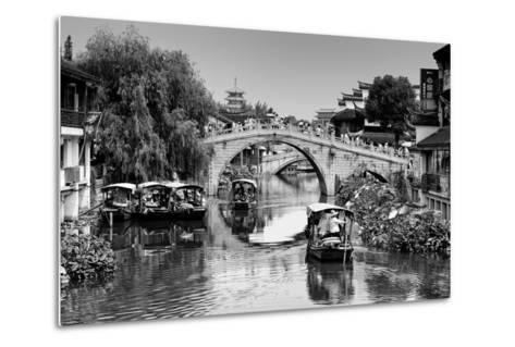 China 10MKm2 Collection - Shanghai Water Town - Qibao-Philippe Hugonnard-Metal Print