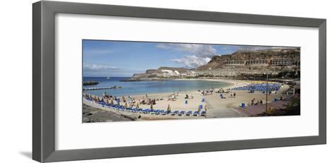 Playa De Los Amadores, Gran Canaria, Canary Islands, Spain-Peter Thompson-Framed Art Print