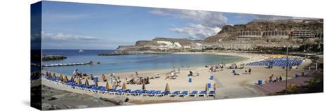 Playa De Los Amadores, Gran Canaria, Canary Islands, Spain-Peter Thompson-Stretched Canvas Print