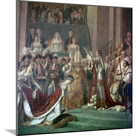Painting of Napoleon Buonaparte and Empress Josephine, 18th Century-Jacques-Louis David-Mounted Giclee Print