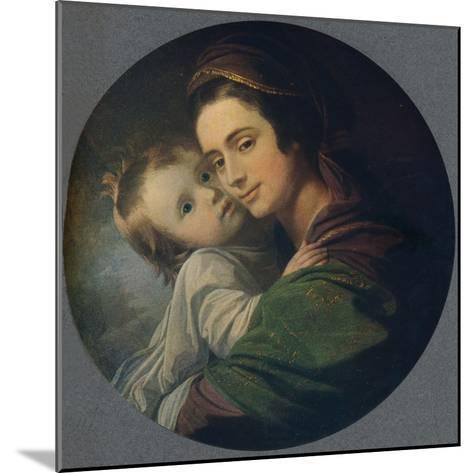 Mrs. West and Child, 1770-Benjamin West-Mounted Giclee Print