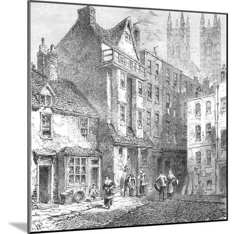 Caxtons House, Westminster, 1827--Mounted Giclee Print