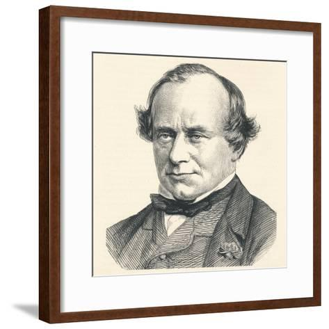 Henry Bouverie William Brand, 23rd Baron Dacre and 1st Viscount Hampden (1814-1892), 1896--Framed Art Print