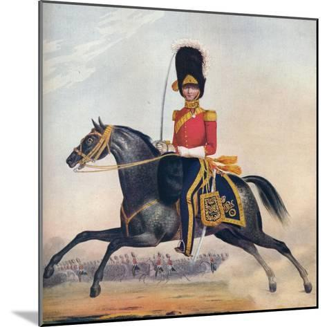 Officer of the 2nd (R. N. Brit.) Dragoons, C1833. (1914)--Mounted Giclee Print