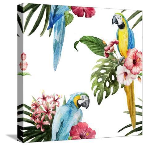 Birds-Zenina-Stretched Canvas Print