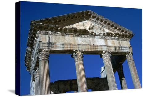 Capitol of Dougga, 2nd Century-CM Dixon-Stretched Canvas Print
