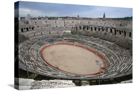 A Roman Arena, 2nd Century-CM Dixon-Stretched Canvas Print