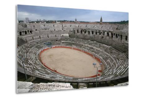 A Roman Arena, 2nd Century-CM Dixon-Metal Print