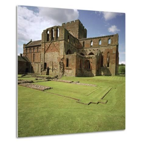 Lanercost Priory, 12th Century-CM Dixon-Metal Print