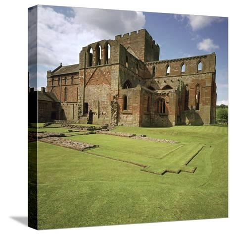 Lanercost Priory, 12th Century-CM Dixon-Stretched Canvas Print