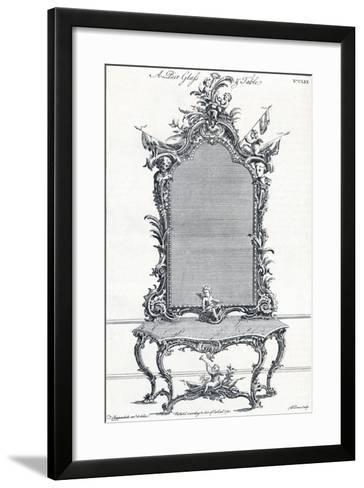 Plate CLXX, from Chippendales Director, 1754, (1903)-Butler Clowes-Framed Art Print