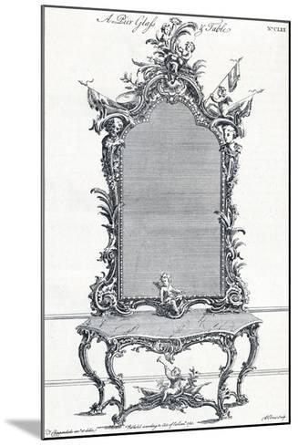 Plate CLXX, from Chippendales Director, 1754, (1903)-Butler Clowes-Mounted Giclee Print