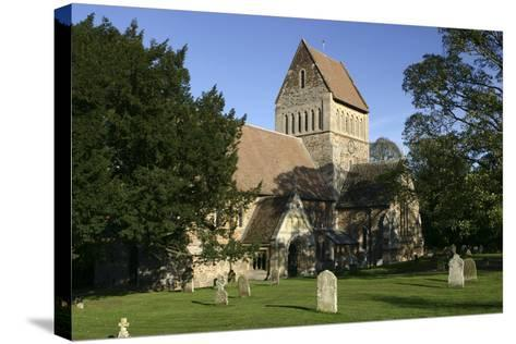 Church of St Lawrence, Castle Rising, Kings Lynn, Norfolk, 2005-Peter Thompson-Stretched Canvas Print