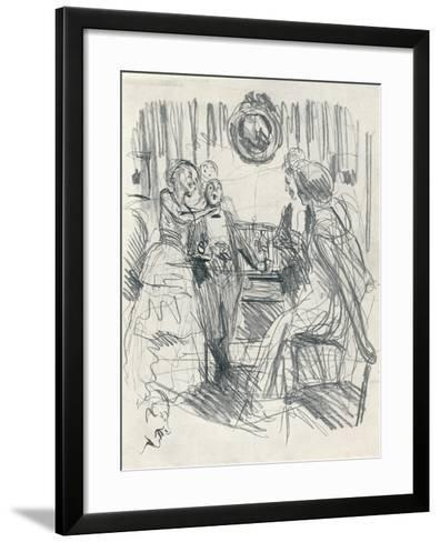 July 1915 - Stage One, C1920-Frederick Henry Townsend-Framed Art Print
