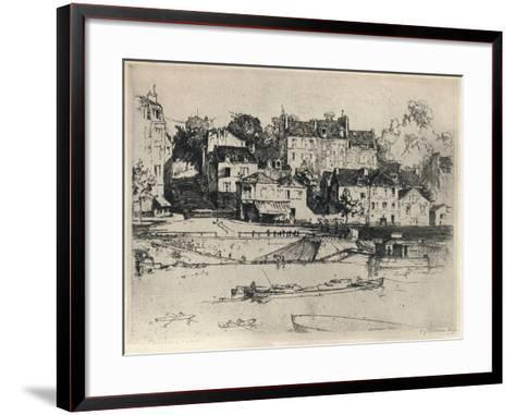 Les Carriers, 1915-CK Gleeson-Framed Art Print