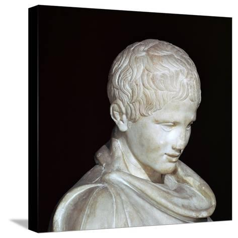 Hellenistic Marble Statue of a Young Athlete from Aydin, 1st Century Bc-CM Dixon-Stretched Canvas Print