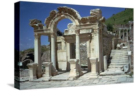 Temple of Hadrian in Ephesus, 2nd Century-CM Dixon-Stretched Canvas Print