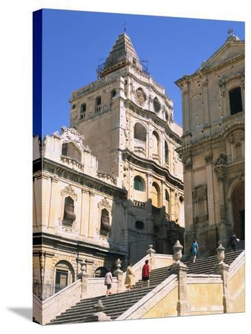 Noto, Sicily, Italy-Peter Thompson-Stretched Canvas Print