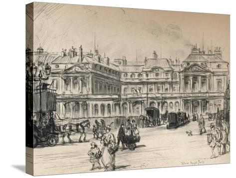 The Palais-Royal, 1915-Frank Milton Armington-Stretched Canvas Print