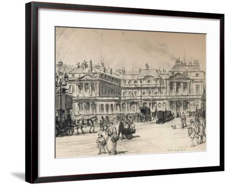 The Palais-Royal, 1915-Frank Milton Armington-Framed Art Print