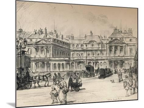 The Palais-Royal, 1915-Frank Milton Armington-Mounted Giclee Print