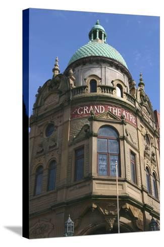 Grand Theatre, Blackpool, Lancashire-Peter Thompson-Stretched Canvas Print