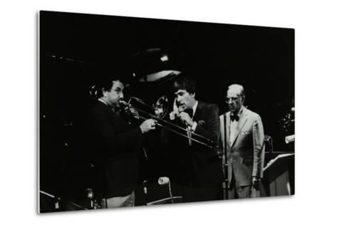 The Herb Miller Orchestra in Concert at the Forum Theatre, Hatfield, Hertfordshire, 1985-Denis Williams-Metal Print