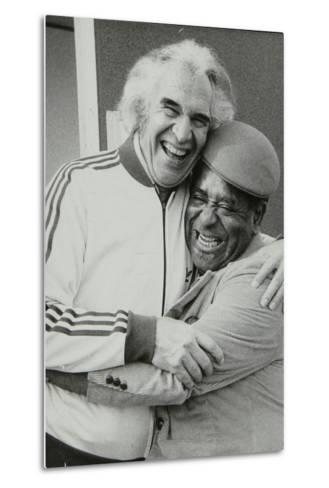 Dave Brubeck and Dizzy Gillespie at the Capital Radio Jazz Festival, Alexandra Palace, London, 1979-Denis Williams-Metal Print