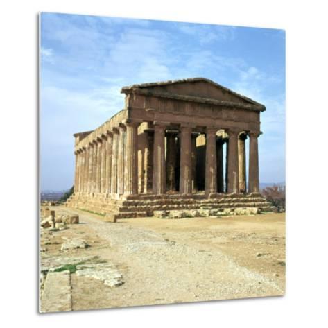 The Temple of Concord on Sicily, 5th Century-CM Dixon-Metal Print
