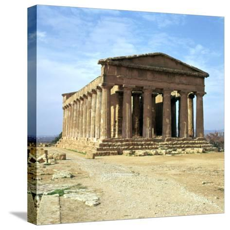 The Temple of Concord on Sicily, 5th Century-CM Dixon-Stretched Canvas Print