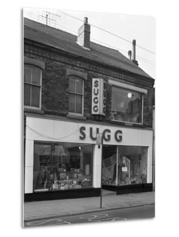 Suggs Shop, Rotherham, South Yorkshire, 1960-Michael Walters-Metal Print