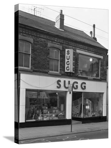 Suggs Shop, Rotherham, South Yorkshire, 1960-Michael Walters-Stretched Canvas Print