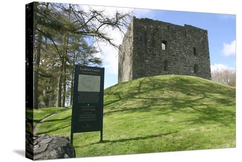 Lydford Castle, Devon-Peter Thompson-Stretched Canvas Print