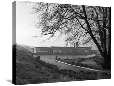 Tapton Hall Secondary Modern School, Sheffield, South Yorkshire, 1960-Michael Walters-Stretched Canvas Print