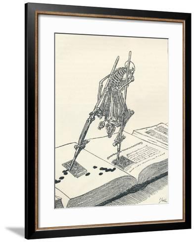 The Modern Dance of Death, C1895-Joseph Kaspar Sattler-Framed Art Print