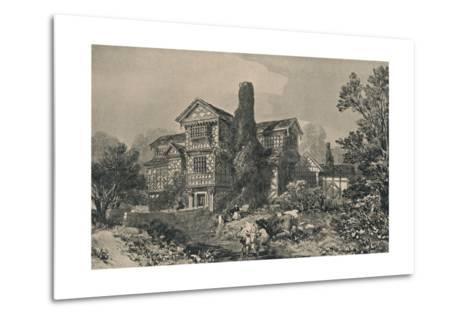Little Moreton Hall, Cheshire, 1915-HL Pratt-Metal Print