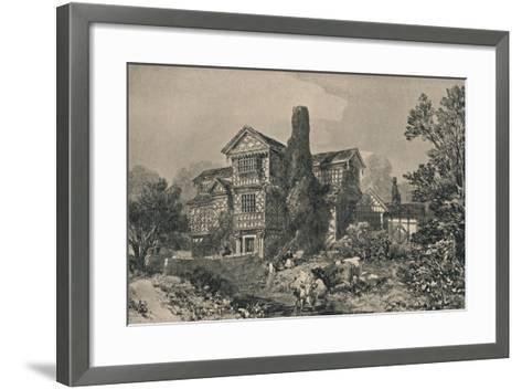 Little Moreton Hall, Cheshire, 1915-HL Pratt-Framed Art Print